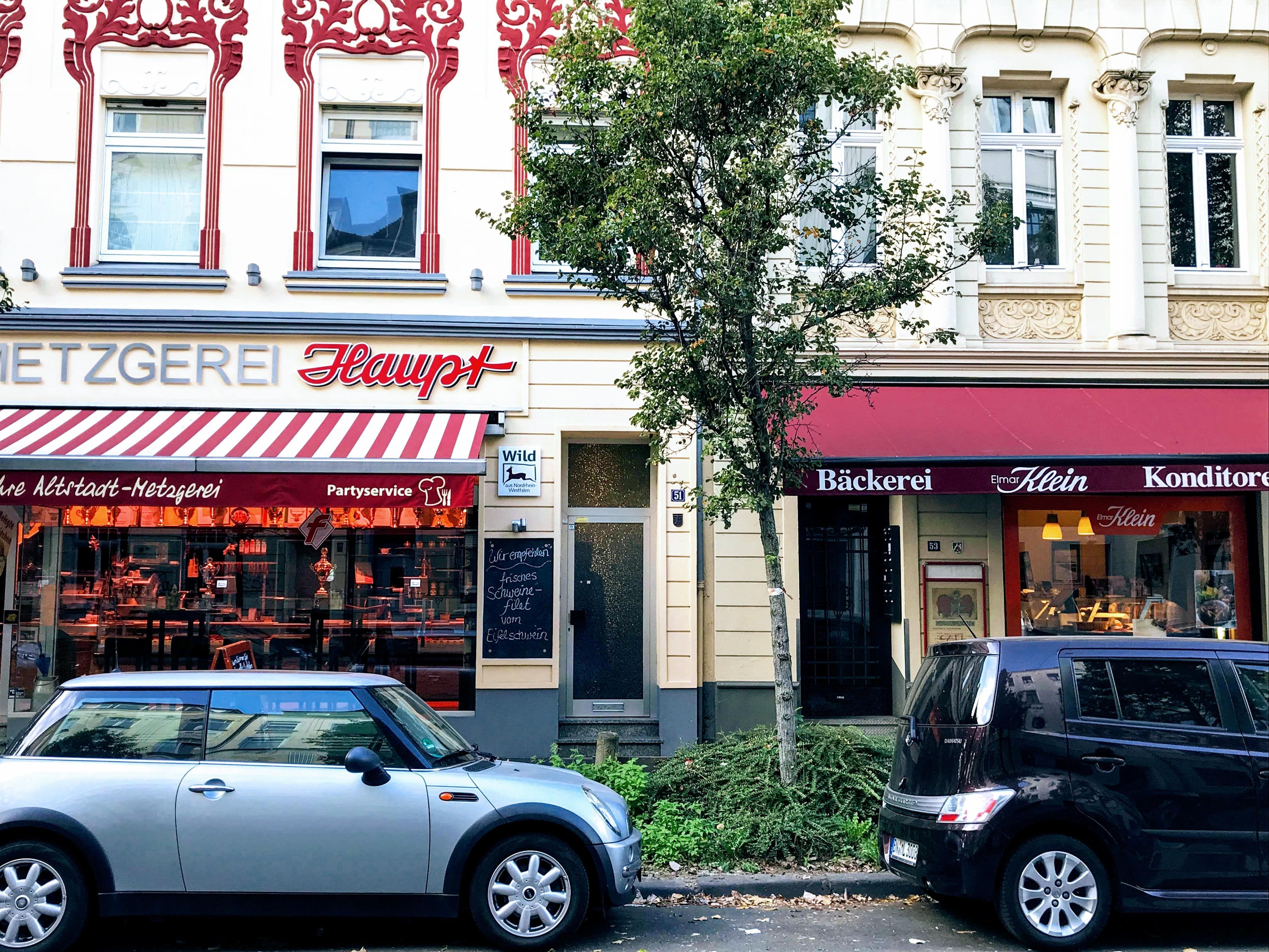 Metzger und Bäcker-Altstadt