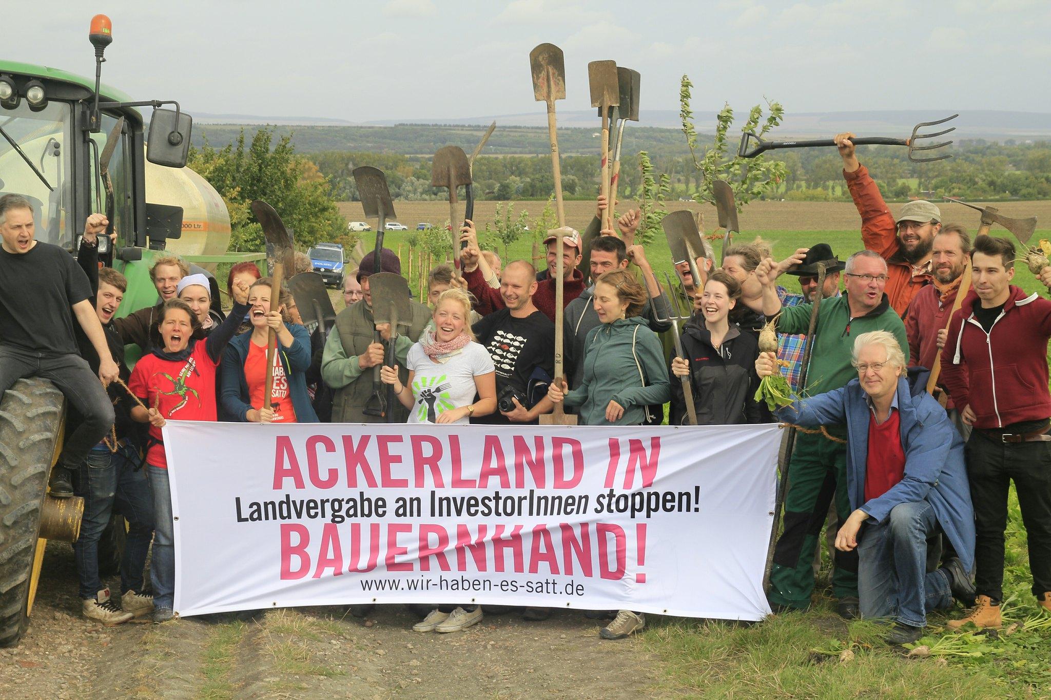 AbL Ackerland in Bauernhad 2