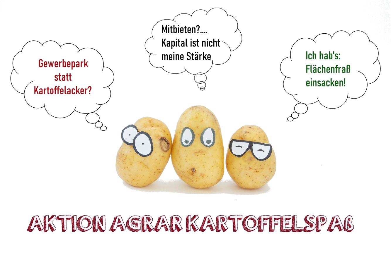Kartoffelbild-weiss