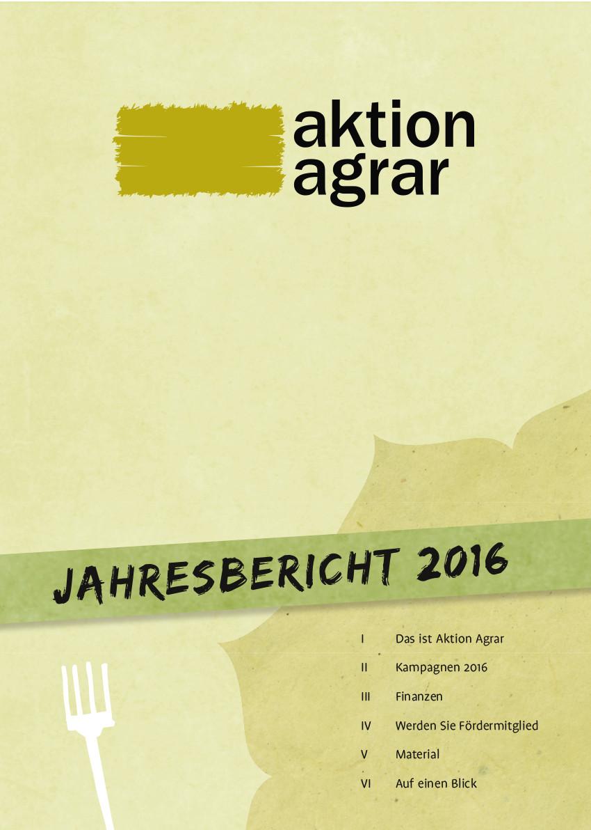 AktionAgrar-Jahresbericht2016_cover