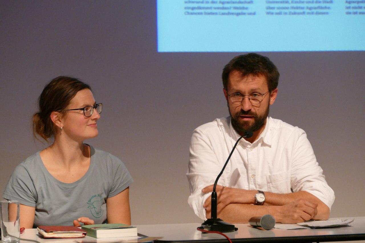 Anja Hradetzky und Sebastian Schmidt